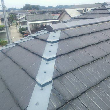 屋根修理工事 完了