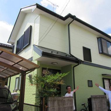 屋根塗装 外壁塗装 コーキング補修 完了
