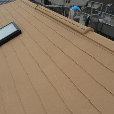 屋根塗装 完了 全体画像 別角度