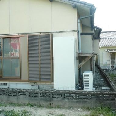 | 熊本市 電気給湯器 エコキュート 設置 後