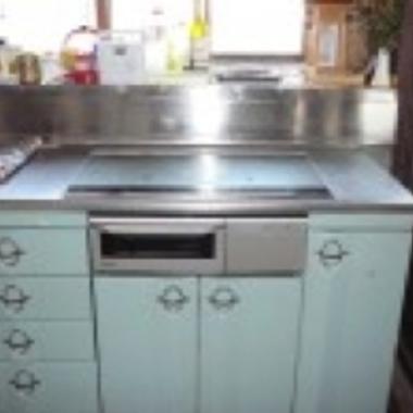 | 熊本市 IH調理器設置例 後