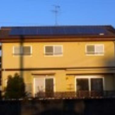 | 熊本市 太陽光発電設置後 正面