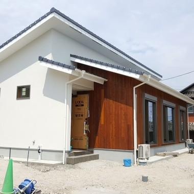 新築工事 住宅外観