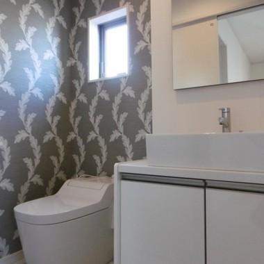 新築工事 洗面所・トイレ