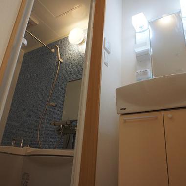 新築工事 洗面・浴室