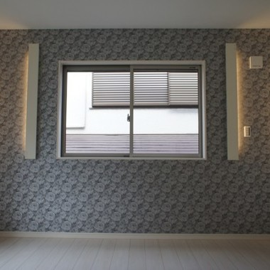 新築工事 洋室壁紙