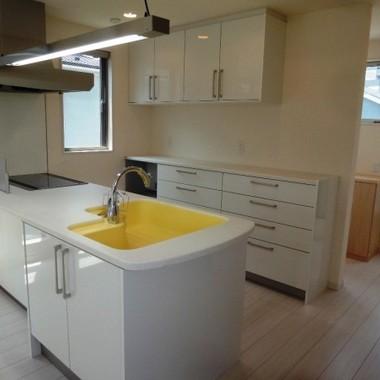新築工事 キッチン