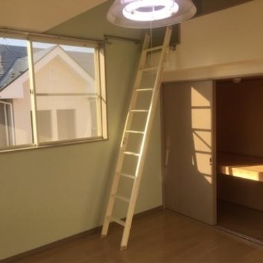 | 原状回復後 はしごと洋室