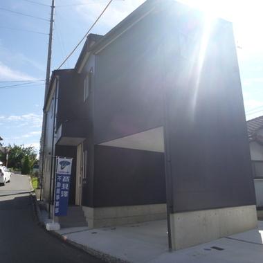 新築工事後 住宅外観