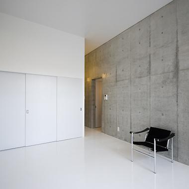 新築工事 マンション洋室1