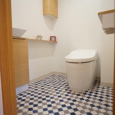 トイレ・洗面台 施工後