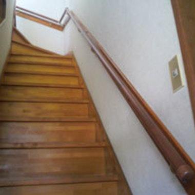 荒川区 Y様邸 階段手すりの設置の施工後写真(0枚目)