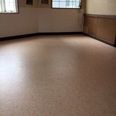 店内床 クッションフロア貼り 価格9万円(税込)の施工後写真(0枚目)