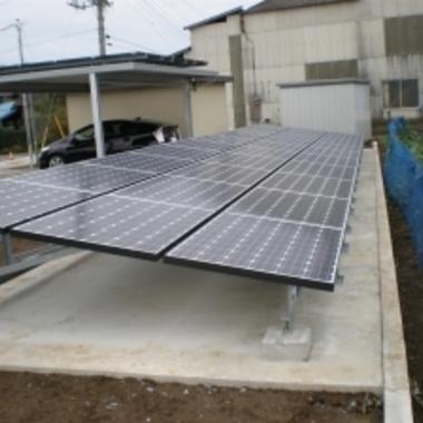 土浦市✕太陽光パネル設置✕良い仕上がりの工事の施工後写真(0枚目)