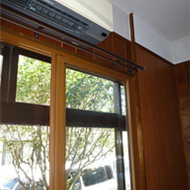 断熱 耐震工事後の窓枠