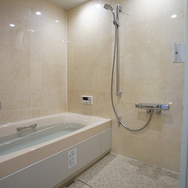 | 施工後の浴室