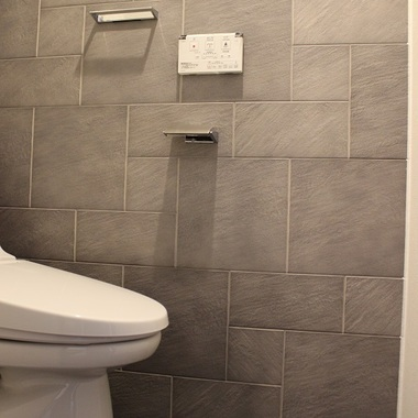 | 施工後のトイレ
