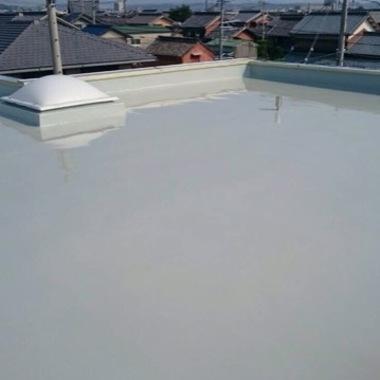 完成後の屋上床面