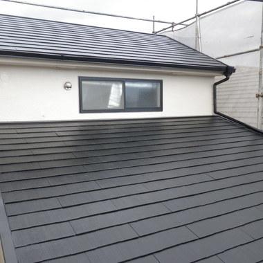 外壁塗装後の屋根
