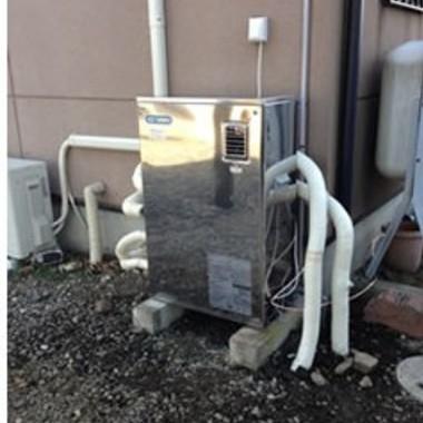 交換後の灯油式ボイラー給湯器