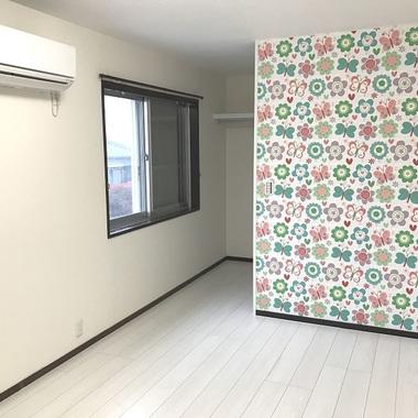 | 施工後の洋室