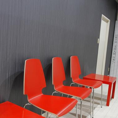 施工後の待合スペース