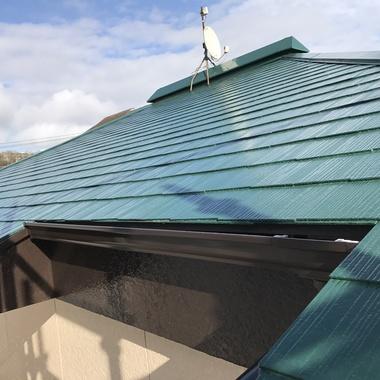 装後の屋根全体
