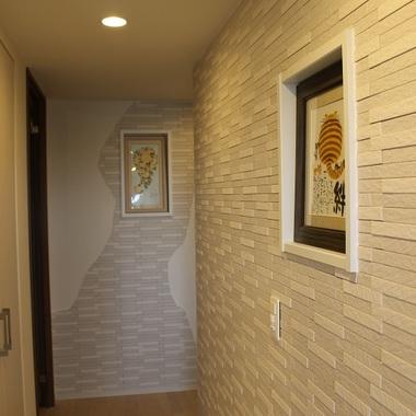 | 施工後の廊下