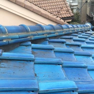 青い屋根5
