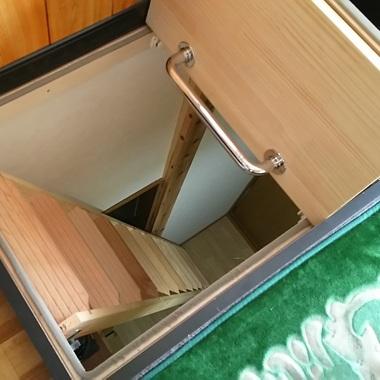 2Fのリビング改装。梯子階段の設置と効率よく収納するためのオリジナル家具の施工後写真(0枚目)