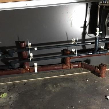 スターバックスコーヒー 新規給排水設備工事の施工後写真(2枚目)