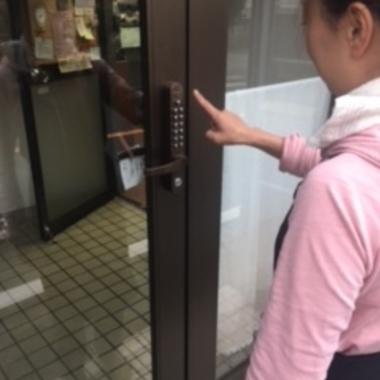防犯用 ドア・鍵交換の施工後写真(0枚目)