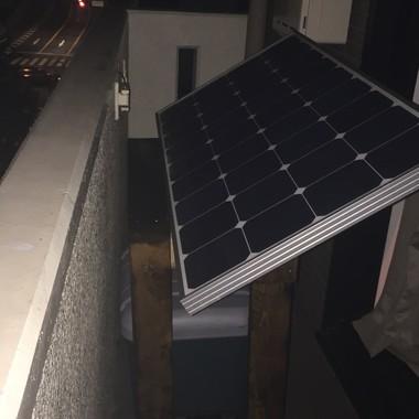 ソーラーパネルの施工後写真(0枚目)
