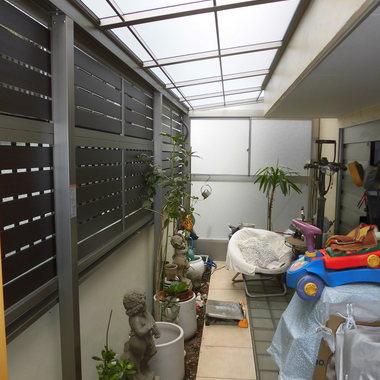 玄関前をより広く【テラス屋根】の施工後写真(0枚目)