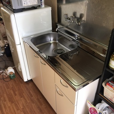 キッチン交換工事の施工後写真(0枚目)