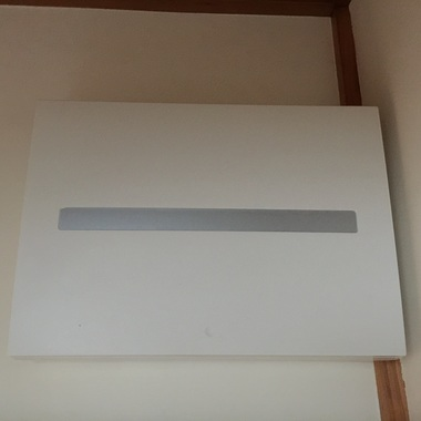古い分電盤をリフォームに伴い移動し,新しいタイプに交換の施工後写真(1枚目)