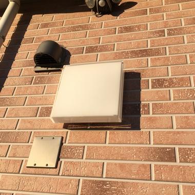 外壁の照明器具の交換の施工後写真(0枚目)