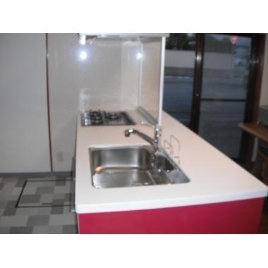 | デザイン性と使い勝手と価格のバランスがいいクリナップのキッチンです。の施工後写真(0枚目)