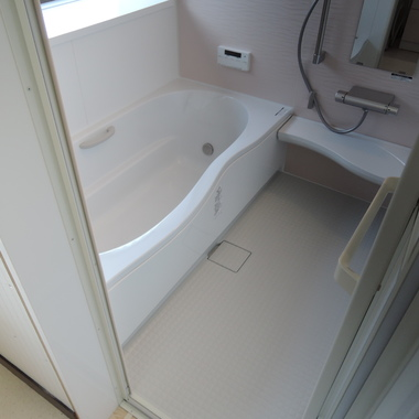 在来風呂~ユニットバスへ!の施工後写真(1枚目)