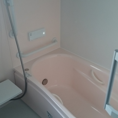 在来工法の浴室からユニットバスへの交換の施工後写真(0枚目)