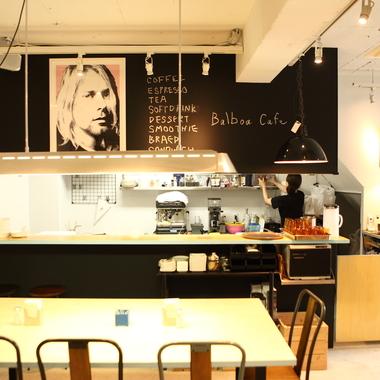 無垢好きカフェの施工後写真(1枚目)