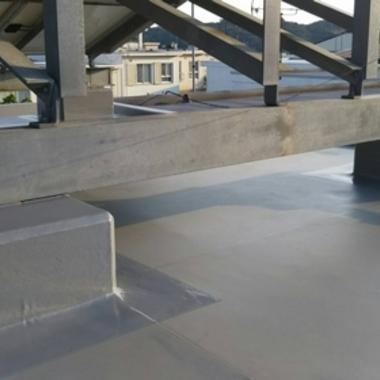 屋上防水工事の施工後写真(0枚目)