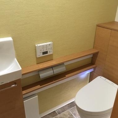 明るいトイレの施工後写真(0枚目)