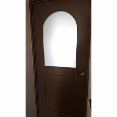 室内扉のガラス交換の施工後写真(0枚目)