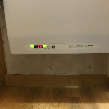 パワーコンディショナ交換、入れ替えの施工後写真(0枚目)