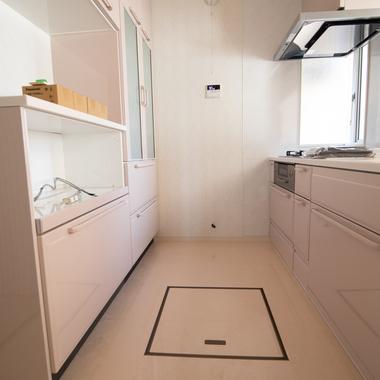 システムキッチン改修工事の施工後写真(0枚目)