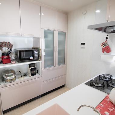 システムキッチン改修工事の施工後写真(1枚目)