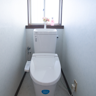 トイレ改修工事の施工後写真(1枚目)