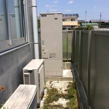 エコキュート更新工事浜松市南区S様邸の施工後写真(0枚目)