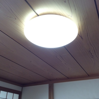 LED化工事浜松市浜北区O様邸の施工後写真(0枚目)
